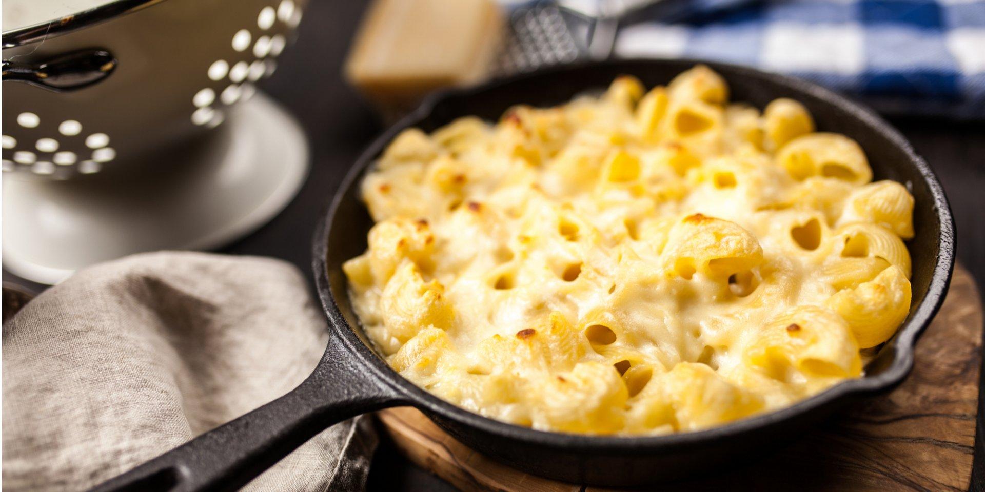 Американские макароны с сыром