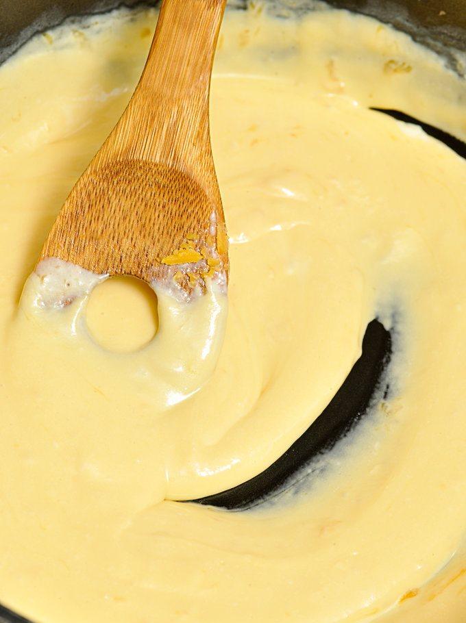 Сырный соус - густой и гладкий