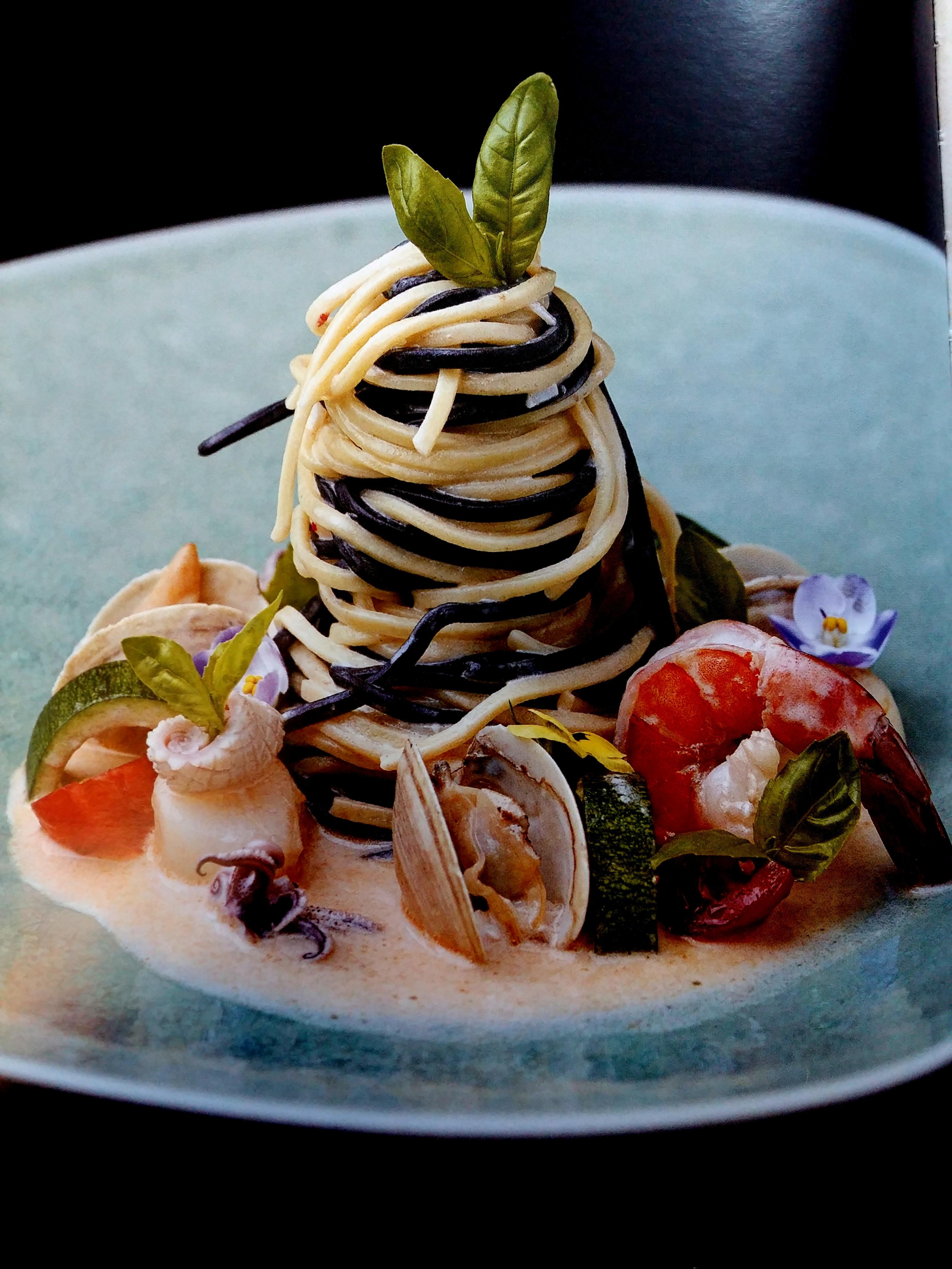 Домашняя паста с морепродуктами от Эктора Хименеса-Браво