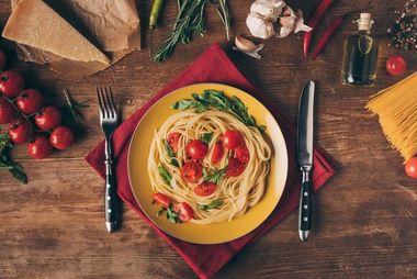 Паста-пати: ешьте вкусно, бегите быстро!