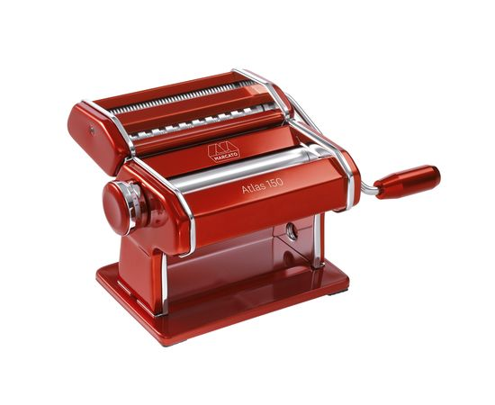 Лапшерезка-тестораскатка Marcato Красная 150мм Marcato AT-150-RSO