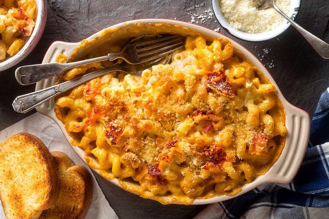 Mac and cheese: те самые макароны с сыром